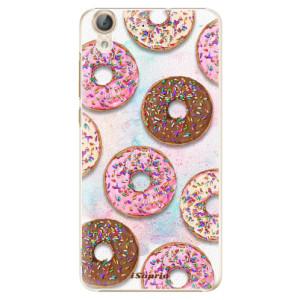 Plastové pouzdro iSaprio Donutky Všude 11 na mobil Huawei Y6 II
