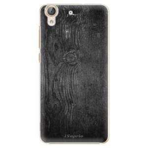 Plastové pouzdro iSaprio black Wood 13 na mobil Huawei Y6 II