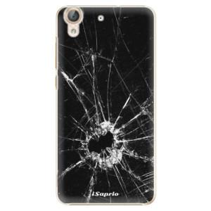 Plastové pouzdro iSaprio Broken Glass 10 na mobil Huawei Y6 II