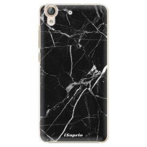 Plastové pouzdro iSaprio black Marble 18 na mobil Huawei Y6 II