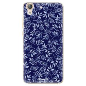 Plastové pouzdro iSaprio Blue Leaves 05 na mobil Huawei Y6 II