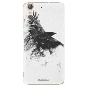 Plastové pouzdro iSaprio Havran 01 na mobil Huawei Y6 II