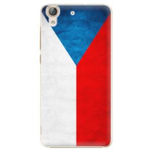 Plastové pouzdro iSaprio Česká Vlajka na mobil Huawei Y6 II