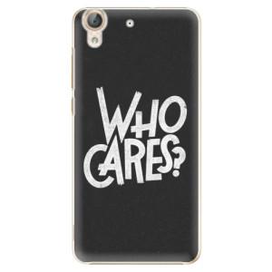 Plastové pouzdro iSaprio Who Cares na mobil Huawei Y6 II