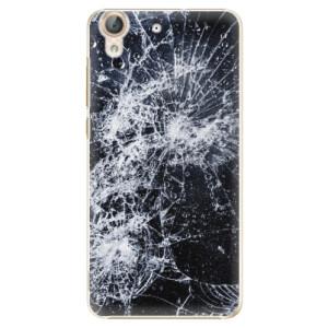 Plastové pouzdro iSaprio Praskliny na mobil Huawei Y6 II