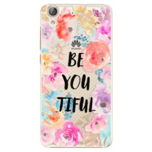 Plastové pouzdro iSaprio BeYouTiful na mobil Huawei Y6 II