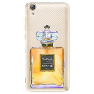Plastové pouzdro iSaprio Chanel Gold na mobil Huawei Y6 II