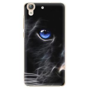 Plastové pouzdro iSaprio black Puma na mobil Huawei Y6 II