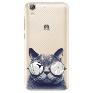 Plastové pouzdro iSaprio Šílená Číča 01 na mobil Huawei Y6 II