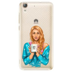 Plastové pouzdro iSaprio Coffee Now Zrzka na mobil Huawei Y6 II