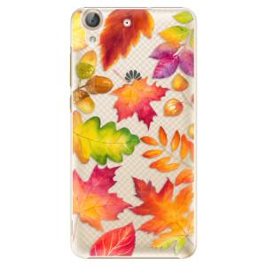 Plastové pouzdro iSaprio Autumn Leaves 01 na mobil Huawei Y6 II
