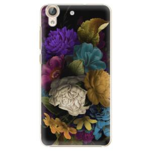 Plastové pouzdro iSaprio Temné Květy na mobil Huawei Y6 II