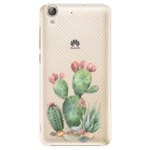 Plastové pouzdro iSaprio Kaktusy 01 na mobil Huawei Y6 II
