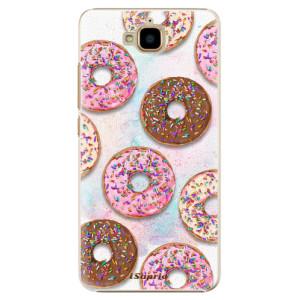 Plastové pouzdro iSaprio Donutky Všude 11 na mobil Huawei Y6 Pro