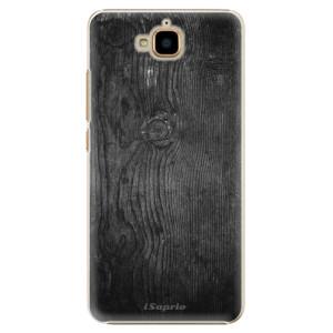 Plastové pouzdro iSaprio black Wood 13 na mobil Huawei Y6 Pro