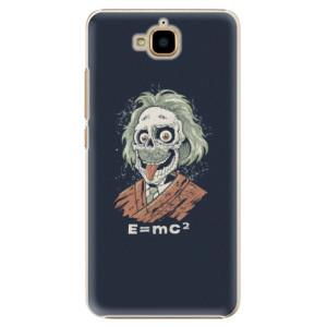 Plastové pouzdro iSaprio Einstein 01 na mobil Huawei Y6 Pro