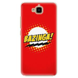 Plastové pouzdro iSaprio Bazinga 01 na mobil Huawei Y6 Pro