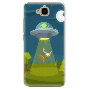 Plastové pouzdro iSaprio Alien 01 na mobil Huawei Y6 Pro