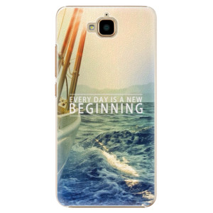 Plastové pouzdro iSaprio Beginning na mobil Huawei Y6 Pro