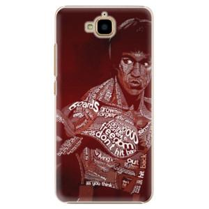 Plastové pouzdro iSaprio Bruce Lee na mobil Huawei Y6 Pro