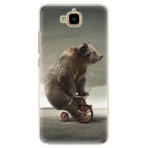 Plastové pouzdro iSaprio Bear 01 na mobil Huawei Y6 Pro