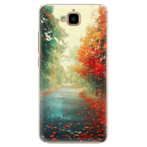 Plastové pouzdro iSaprio Autumn 03 na mobil Huawei Y6 Pro