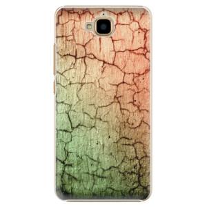Plastové pouzdro iSaprio Rozpraskaná Zeď 01 na mobil Huawei Y6 Pro