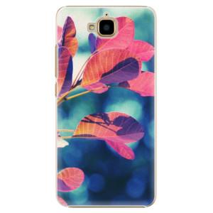 Plastové pouzdro iSaprio Autumn 01 na mobil Huawei Y6 Pro
