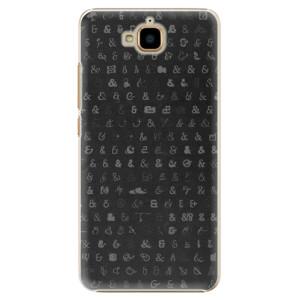 Plastové pouzdro iSaprio Ampersand 01 na mobil Huawei Y6 Pro