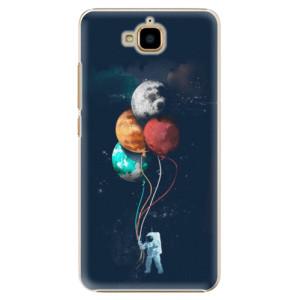 Plastové pouzdro iSaprio Balloons 02 na mobil Huawei Y6 Pro