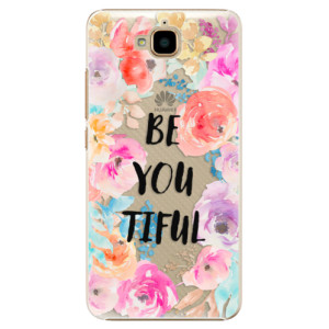 Plastové pouzdro iSaprio BeYouTiful na mobil Huawei Y6 Pro