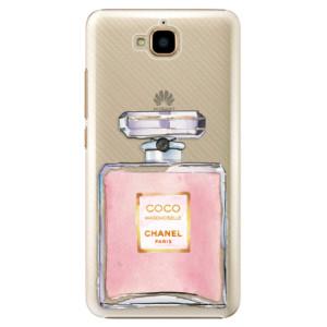 Plastové pouzdro iSaprio Chanel Rose na mobil Huawei Y6 Pro