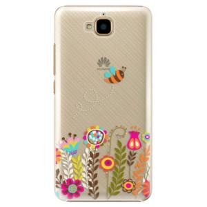 Plastové pouzdro iSaprio Bee 01 na mobil Huawei Y6 Pro