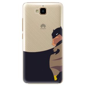 Plastové pouzdro iSaprio BaT Comics na mobil Huawei Y6 Pro