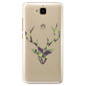 Plastové pouzdro iSaprio Zelený Jelínek na mobil Huawei Y6 Pro