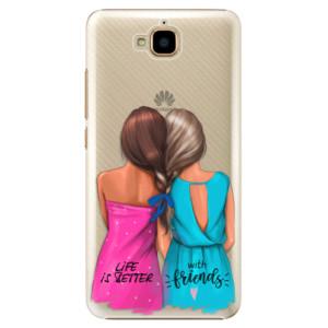Plastové pouzdro iSaprio Best Friends na mobil Huawei Y6 Pro