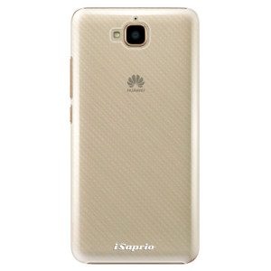 Plastové pouzdro iSaprio 4Pure mléčné bez potisku na mobil Huawei Y6 Pro