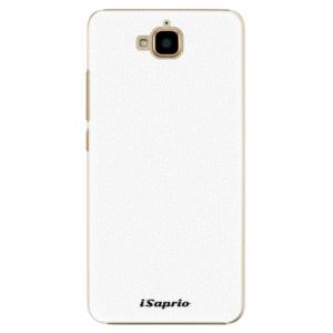 Plastové pouzdro iSaprio 4Pure bílé na mobil Huawei Y6 Pro
