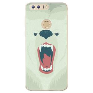 Plastové pouzdro iSaprio Angry Bear na mobil Huawei Honor 8