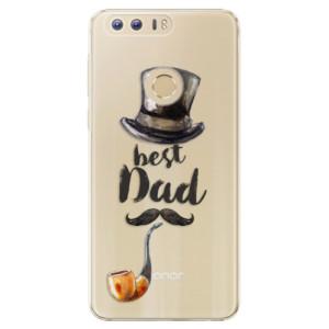 Plastové pouzdro iSaprio Best Dad na mobil Huawei Honor 8