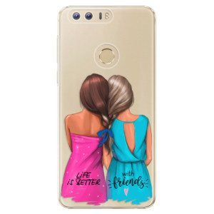Plastové pouzdro iSaprio Best Friends na mobil Huawei Honor 8