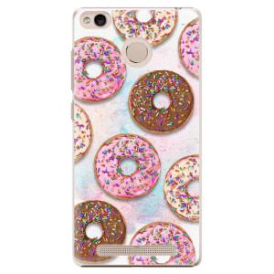 Plastové pouzdro iSaprio Donutky Všude 11 na mobil Xiaomi Redmi 3S