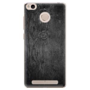 Plastové pouzdro iSaprio black Wood 13 na mobil Xiaomi Redmi 3S