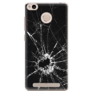 Plastové pouzdro iSaprio Broken Glass 10 na mobil Xiaomi Redmi 3S