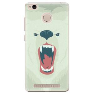 Plastové pouzdro iSaprio Angry Bear na mobil Xiaomi Redmi 3S