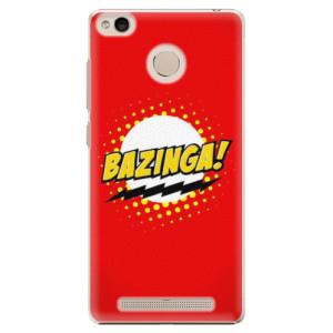 Plastové pouzdro iSaprio Bazinga 01 na mobil Xiaomi Redmi 3S