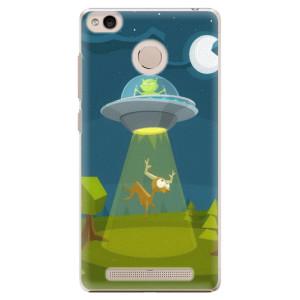 Plastové pouzdro iSaprio Alien 01 na mobil Xiaomi Redmi 3S