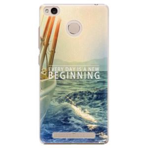 Plastové pouzdro iSaprio Beginning na mobil Xiaomi Redmi 3S