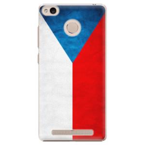 Plastové pouzdro iSaprio Česká Vlajka na mobil Xiaomi Redmi 3S