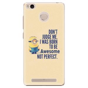 Plastové pouzdro iSaprio Be Awesome na mobil Xiaomi Redmi 3S
